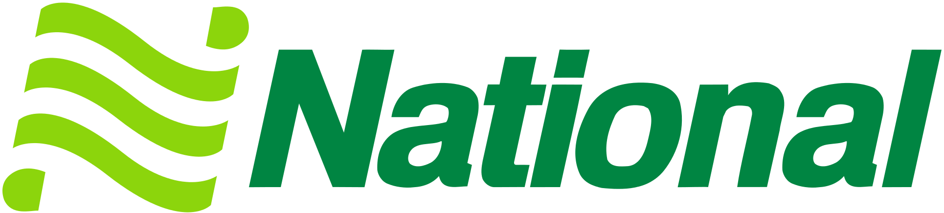 National employee car rental logo