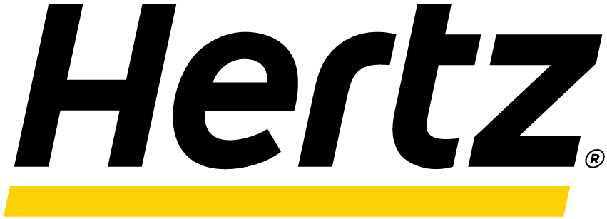 Hertz employee car rental logo