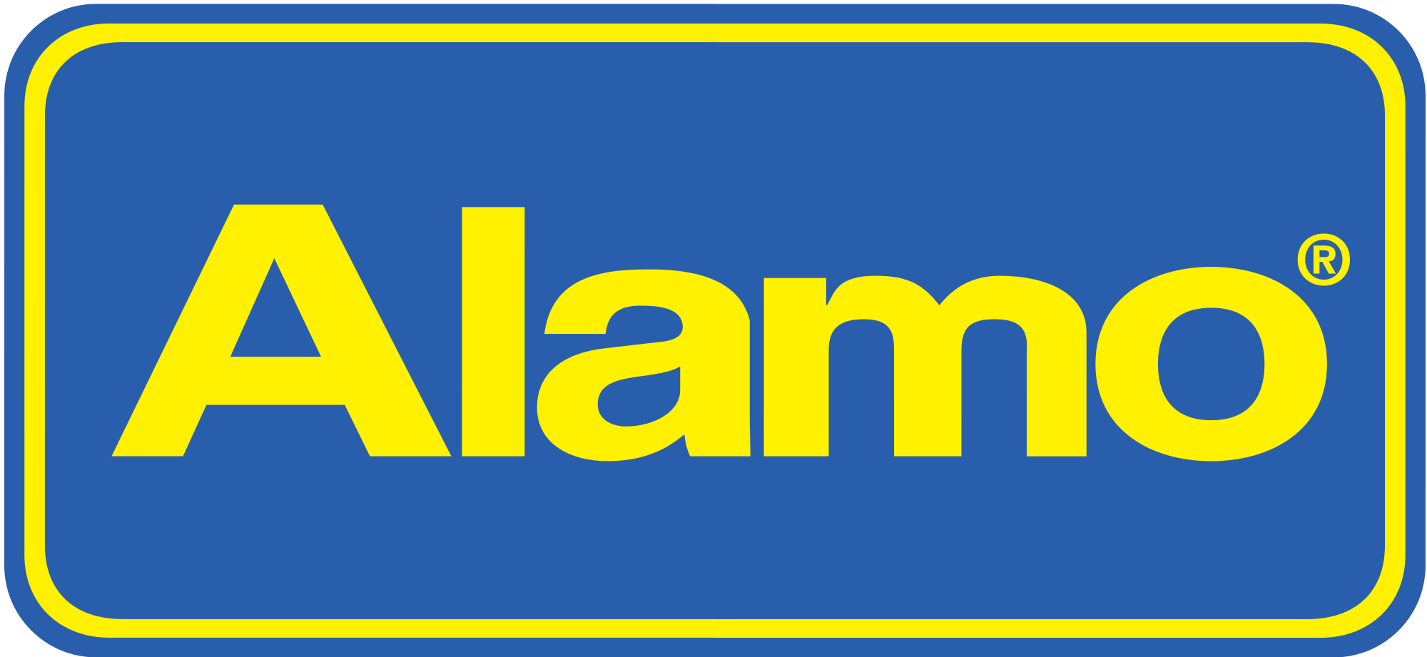 Alamo employee car rental logo